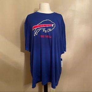 NWT Men's NFL Buffalo Bills T Shirt 2XL Royal Blue